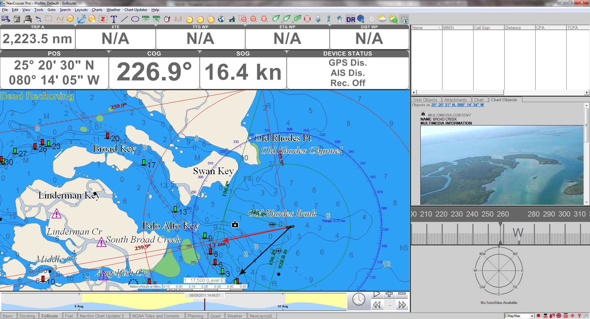 NavCruiser Pro 3 with CMAP MAX Data